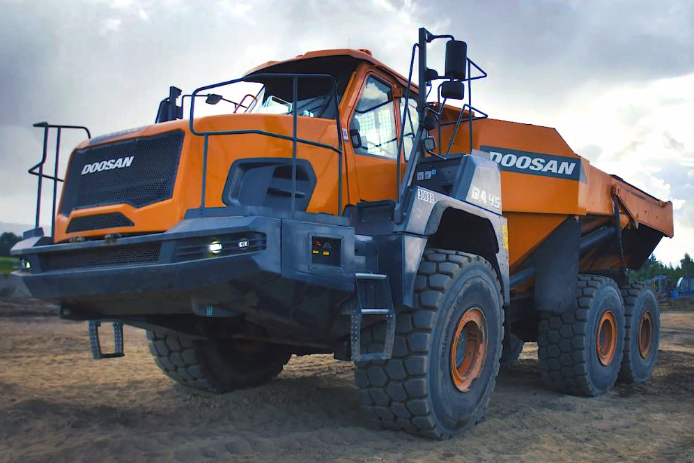 Doosan Infracore recently signed deals to supply its articulated dump trucks (ADTs) to Saudi Arabia and Poland.