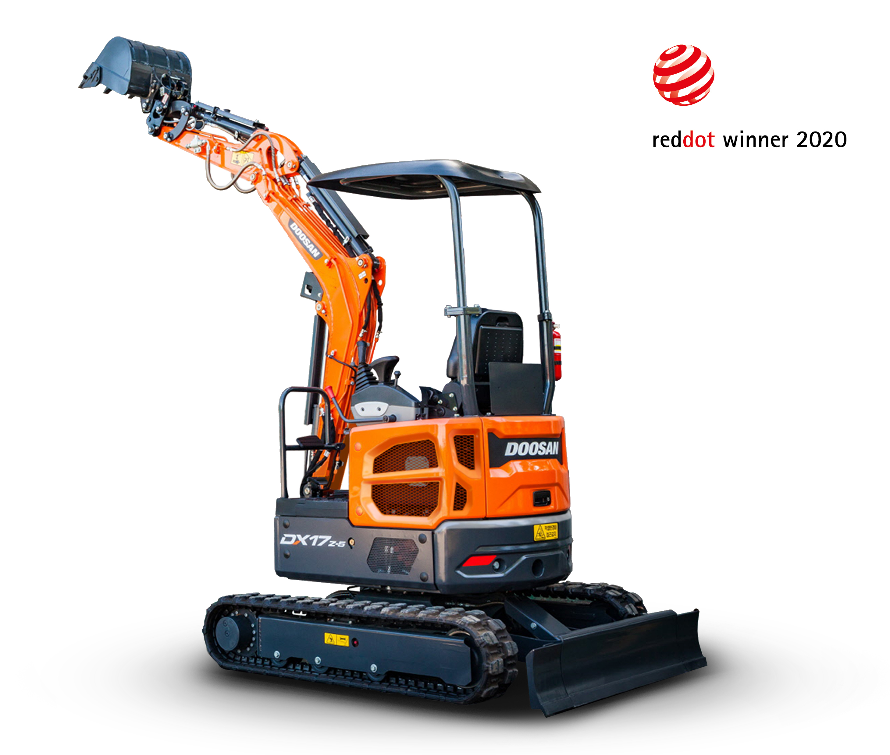 The DX17z-5 model has been recognized for its outstanding competitiveness in design, as well winning the 2020 Red Dot Design Award and the 2019 Pin Up Design Award.