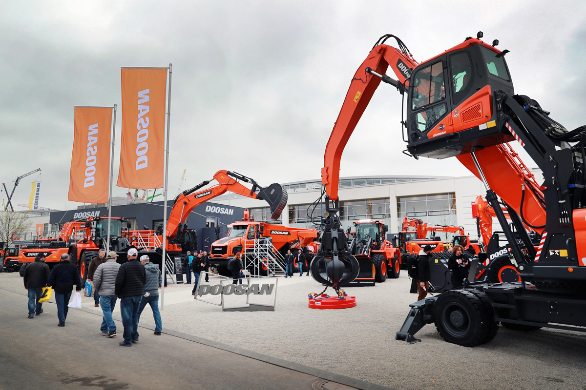 Doosan Infracore Europe Records Highest Ever Sales Figure with 548 Construction Machines in September