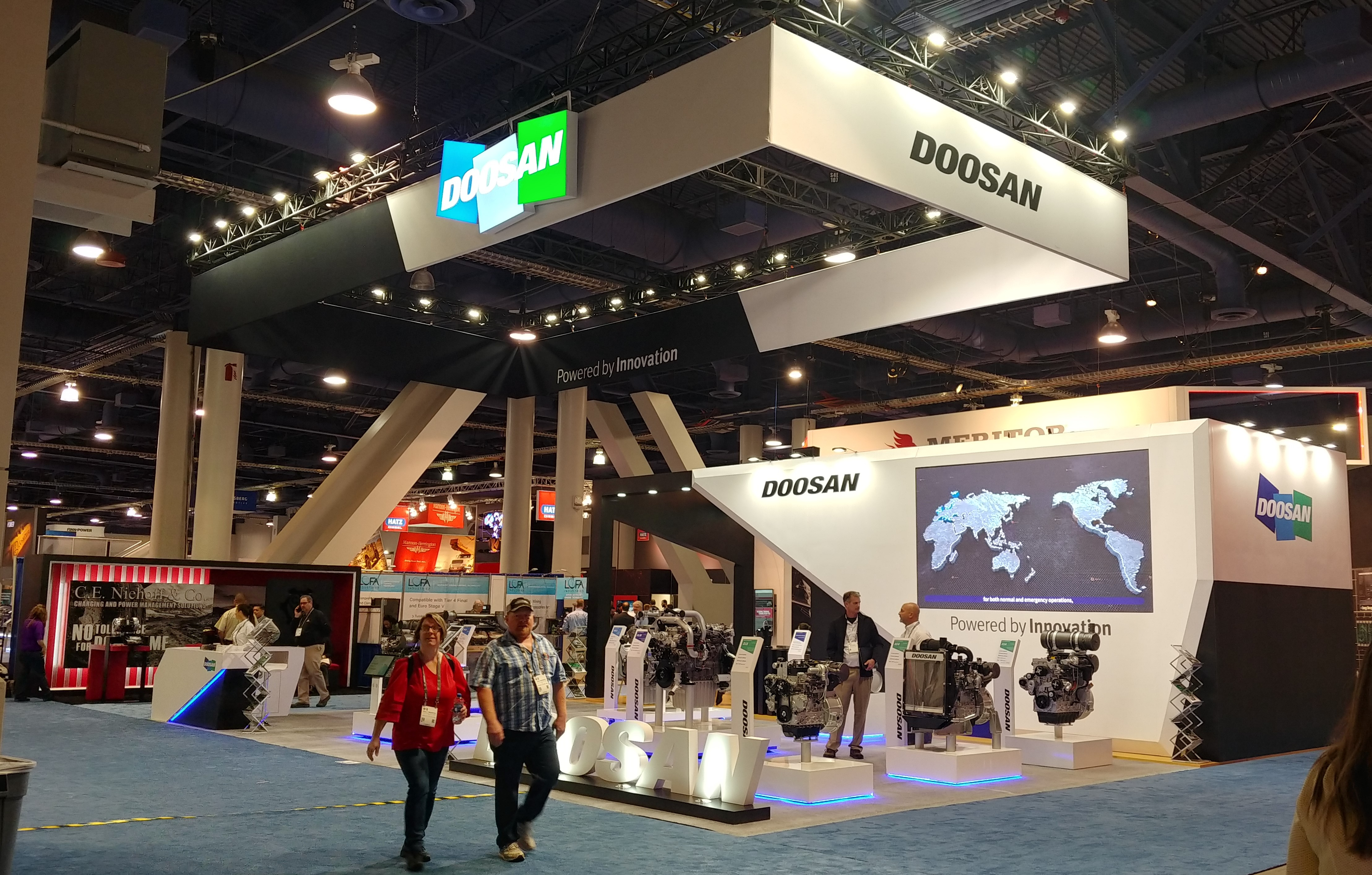 Doosan participates in the U.S. construction trade show CONEXPO 2020, introducing smart machines and solutions